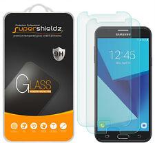 2X Supershieldz Samsung Galaxy J7 Sky Pro Tempered Glass Screen Protector Saver