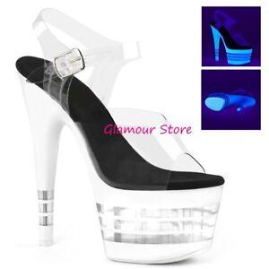 Couleurs Sandales 18 à Plateau Sexy Chaussures Variées Talons Club De 41 Fluorescentes 35 XnO8wPkN0