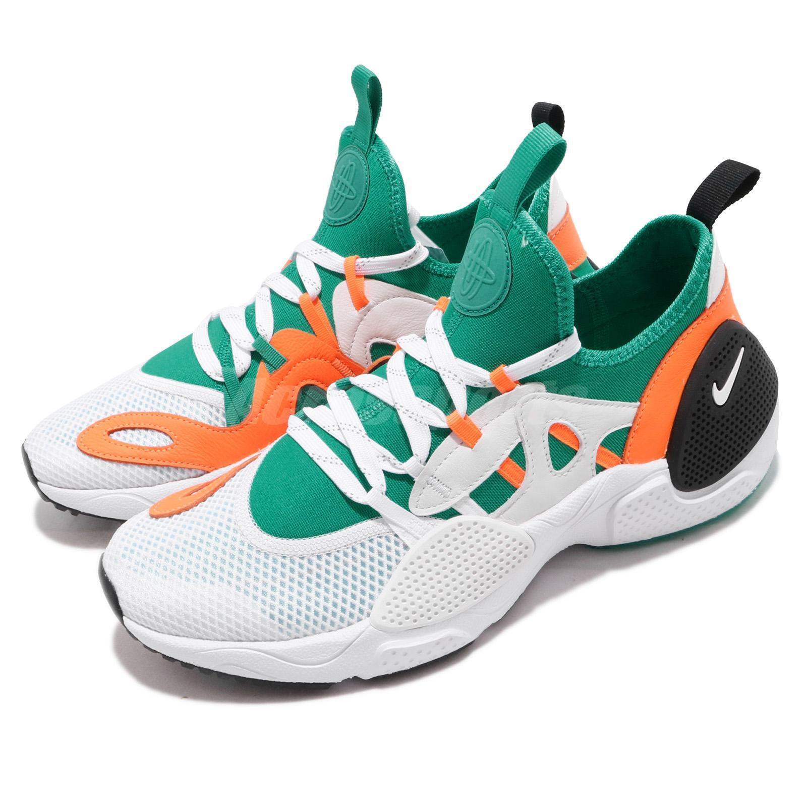 Nike Huarache E.D.G.E. TXT QS White Clear Emerald orange Men shoes BQ5206-100