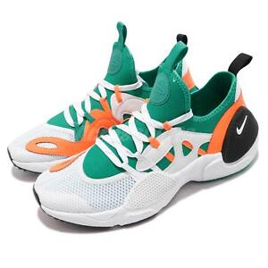 bce4e70fe3c60 Nike Huarache E.D.G.E. TXT QS White Clear Emerald Orange Men Shoes ...