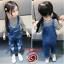 26-style-Kids-Baby-Boys-Girls-Overalls-Denim-Pants-Cartoon-Jeans-Casual-Jumpers thumbnail 42