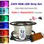 2-50M-230V-RGB-LED-Streifen-Strip-Band-60LEDs-M-IP67-RF-IR-Bluetooth-Controller miniatuur 5