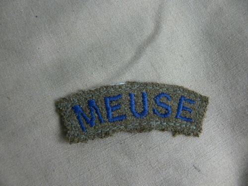 REPRO INSIGNE  LIGNE MAGINOT /' MEUSE /'  LIGNE MAGINOT ARM BADGE /' MEUSE /'