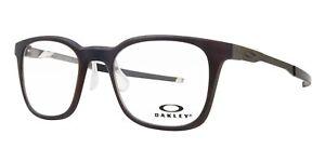 a4e56d2323f Oakley OX8103-0449 Steel Line R Matte Dark Amber Eyeglasses 49mm ...