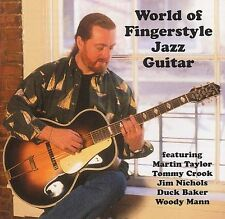 World Of Fingerstyle Jazz Guitar Learn to Play Folk Country Music CD