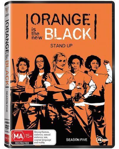 ORANGE Is The New BLACK - Season Series 5 : NEW DVD