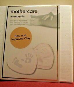Baby-Memory-Tin-Create-Your-Own-Keepsake-Hand-Feet-Casting-Kit-Christening-Gift