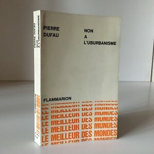 Piedra-Dufau-No-De-URBANISMO-Flammarion-El-Mejor-Las-Mundos-1964