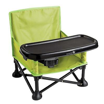 Discreto Summer Infant Pop N Sit Pieghevole Booster, Verde-