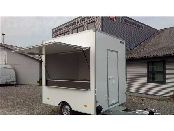 Salgsvogn 250 Salgsvogn, lastevne (kg): 1300