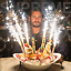 Sparkling-Candles-Birthday-Wedding-Bottle-Party-Candle-Sparklers-Color-Selection thumbnail 1