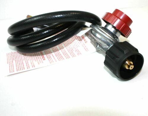 Adjustable LPG Propane Gas 4.5ft Hose /& Regulator 4 BBQ Grill Burner Wok Fryer