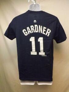 best service f26d5 05315 New-Minor Flaw New York Yankees Brett Gardner Majestic Youth ...