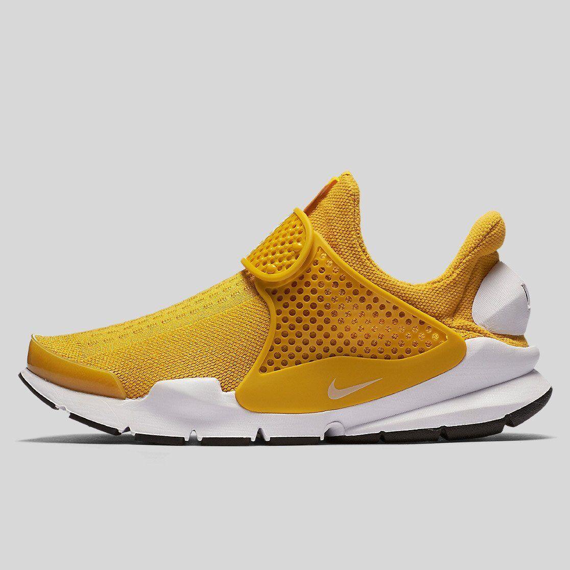 Nike Sock Dart Women's gold Dart 848475-700 Yellow Fashion  Slip-On DS Very Rare