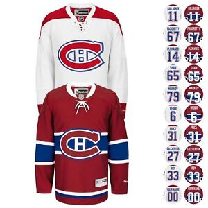 2016-17-Montreal-Canadiens-Reebok-Team-Player-PREMIER-Jersey-Collection-Men-039-s