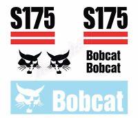 Bobcat S175 Skid Steer Set Vinyl Decal Sticker - Aftermarket