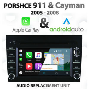 Porsche-911-Cayman-05-08-Apple-CarPlay-amp-Android-Auto-Infotainment-audio