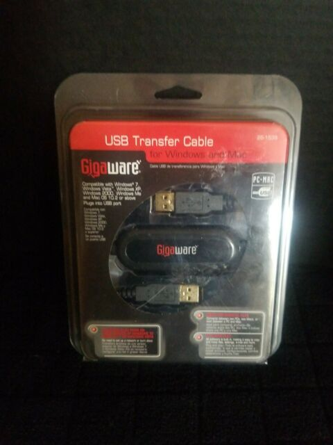 DRIVERS: GIGAWARE USB TRANSFER CABLE