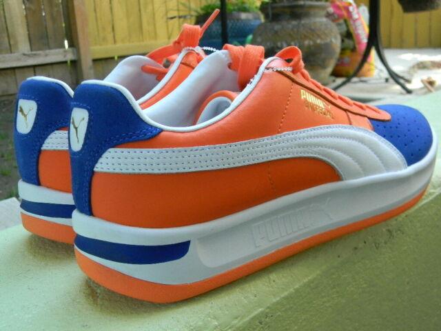 PUMA GV SPECIAL Men Sz 10.5 12 Kokono NY Mets Knicks Sneakers Shoes Orange/Blue