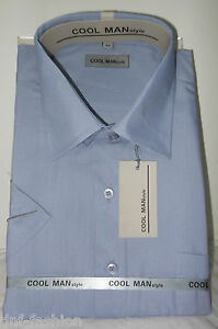Camicia-classica-uomo-Cool-Man-mezza-manica-collo-classico-Art-116-9-90