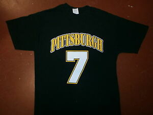 BEN-ROETHLISBERGER-PITTSBURGH-STEELERS-7-JERSEY-T-SHIRT-MEDIUM
