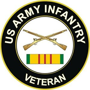 Army-Infantry-Vietnam-Veteran-3-8-034-Window-Sticker-Decal