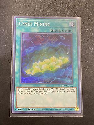 Yugioh MP20-EN072 Cynet Mining Super Rare 1st ~ Fast Shipping!