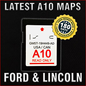 CleverDeal A10 2018 2019 MAP Update Nav SD Card SYNC FITS All Ford Lincoln Updates A9 a8