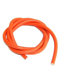 Moped Ignition Leads Spark Plug Wire Orange 7mm-50 CM Ciao Bravo Tzg
