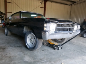 71 chevelle project car for sale