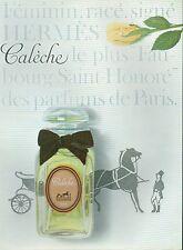 ▬► PUBLICITE ADVERTISING AD PARFUM PERFUME Calèche Hermès 61