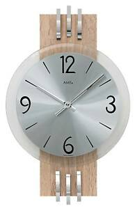 Ams 9228 Wanduhr Uhren Neu Moderater Preis Geräuschlose Uhr