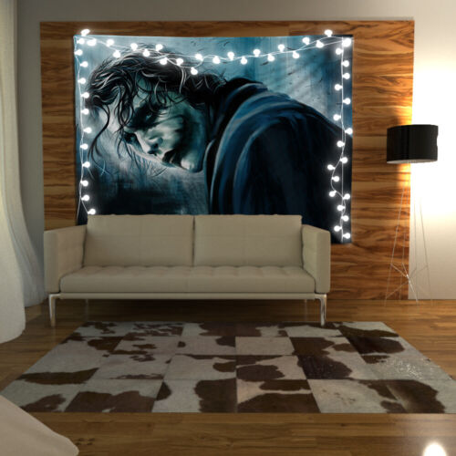 Joker Painting Tapestry Art Wall Hanging Sofa Table Bed Cover Home Decor