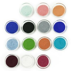 Colored Sand 1lb Bag(~1 1/4 cup) Craft, Vase Fillers, Art Supplies 11 colors