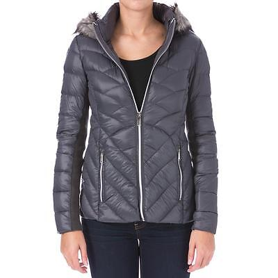 BCBGeneration 7954 Womens Down Packable Puffer Coat Outerwear BHFO
