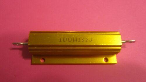 1 ohm 100 Watt Shell Power Aluminum Housed Cover resistor