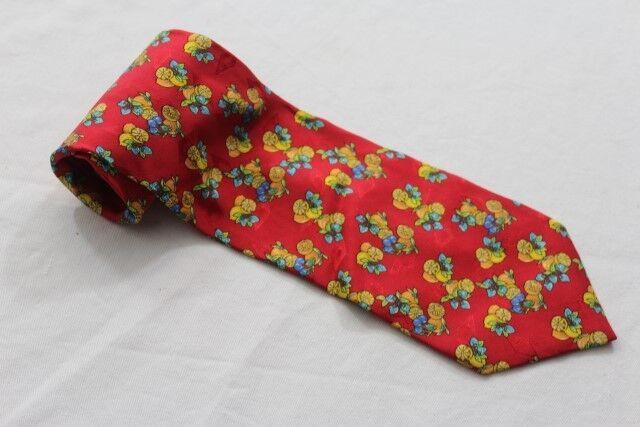KR3281 Club Uomo Krawatte Mehrfarbig mit Motiv