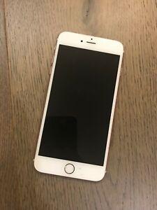 Iphone 6s plus rose gold used