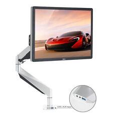 Calidad alta gama ajustable de montaje de escritorio Brazo Articulado Monitor único soporte