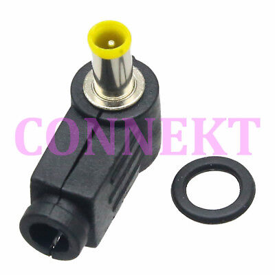 New 6.0 x 3.0 mm DC Power cable Male Plug Connector Adapter Plastic black Head
