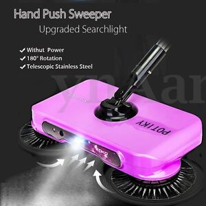 Automatic Hand Push Sweeper Broom Household Cleaning Mop