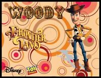 Woody Fridge Magnet 1 Logo 9. 4 X 5. Disney Cartoons. Toy Story....free Ship