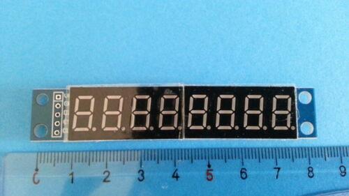 Module afficheur HCMODU0082 MAX7219 EWG 8 chiffres Arduino Pi