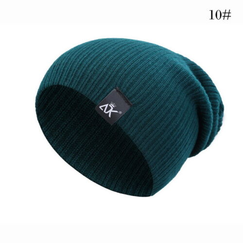 Slouch Beanie Hat 12Colour Baggy Beenie Festival Club Most  Warm Hats B
