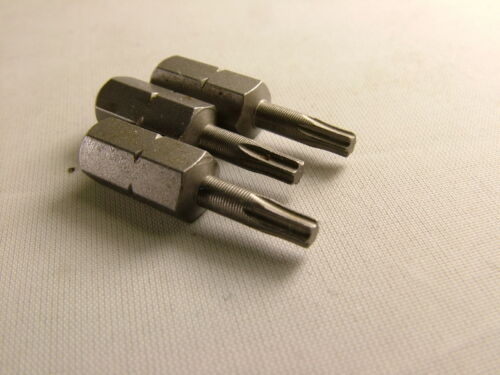 pack de 3 Torx Bits Qualité Superior T T10 Made in Germany 25 mm long