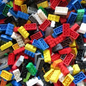 Used-LEGO-500g-Packs-Bricks-3001-Stein-2-x-4