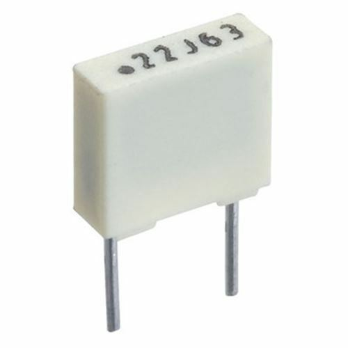 680nF 63V 5mm Polyester Box Capacitors Pack 10