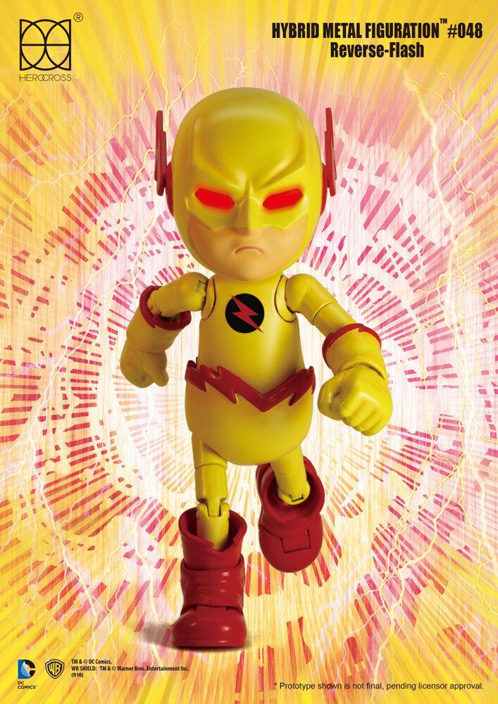 Dc comics hybrid - actionfigur reverse flash - 14 cm