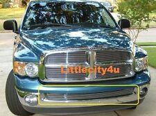 FOR 2002-2008 Dodge RAM 1500 Pickup Billet Grille grill Bumper insert