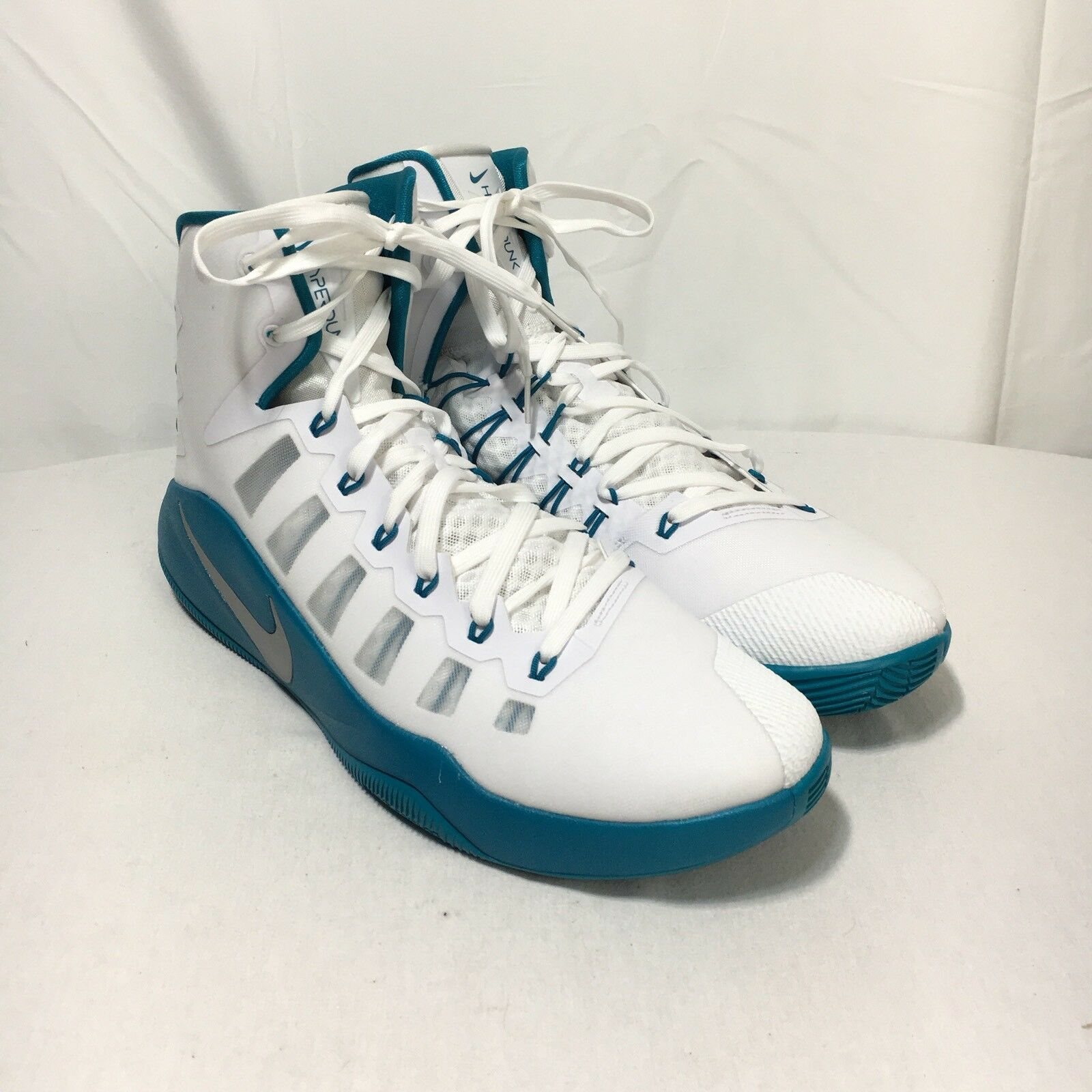 Nike Uomo Basketball Hyperdunk 2016 Uomo's Uomo's Uomo's 15 Teal blu bianca   70aef9